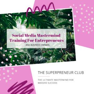 Social Media Mastermind Training For Entrepreneurs FB